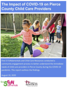Impact of COIVD-19 on Pierce County Child Care Providers_August2020